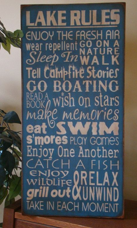 Love this sign, perfect for the porch...wonder if it is outdoor proof.