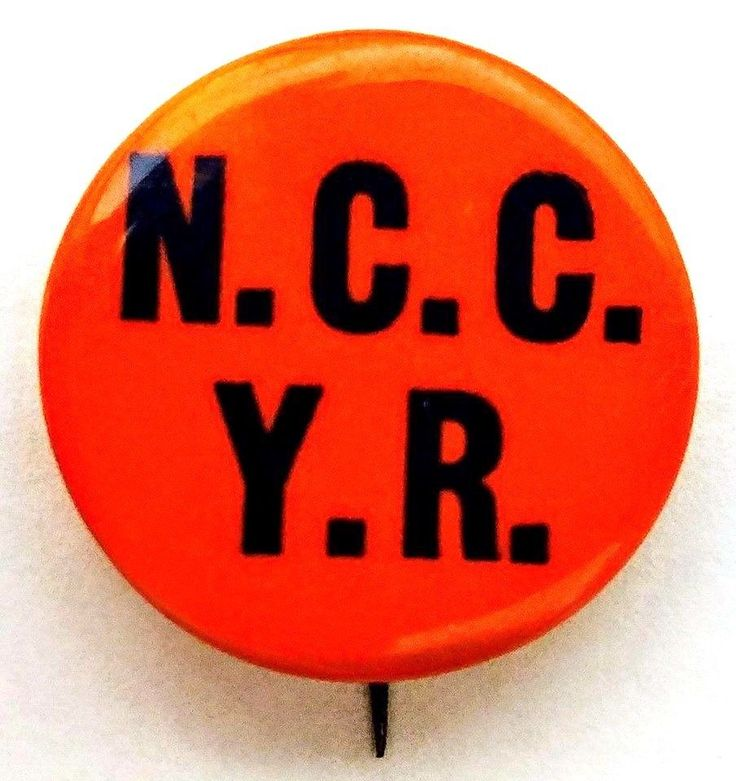 YOUNG REPUBLICANS, NASSAU COMMUNITY COLLEGE  New York - 1964 Membership Button