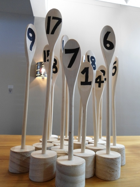 clever table number markers
