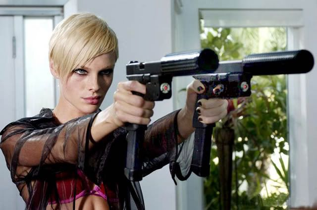 Transporter 2 Girl Guns Short Hair Styles Hair Makeup