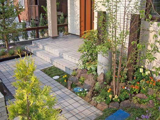 仙台市宮城野区 S様邸 ロックガーデンと目隠しフェンス|竜門園