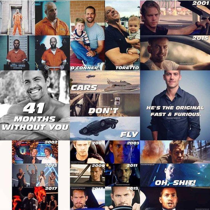 """ถูกใจ 191 คน, ความคิดเห็น 2 รายการ - Buster (@foreverpaulwalker47) บน Instagram: """"#repost @teampww - 2017 what an incredible Year... I LOVE TO KEEP PAUL'S LEGACY ALIVE... it's for…"""""""