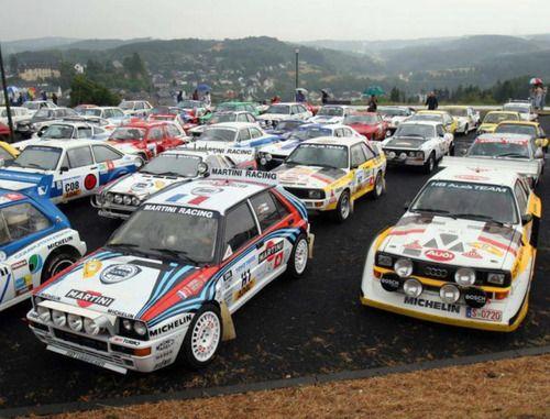 Rally Car Park