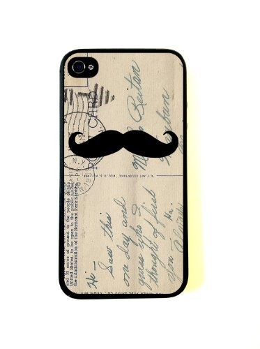 Mustache On Vintage Postcard Art iphone 4 CaseIphone Cases, Vintage Postcards, Iphone 4S, Postcards Art, Art Iphone, Iphone 4 Cases, Iphone 5 Cases, Mustaches, Fit Iphone