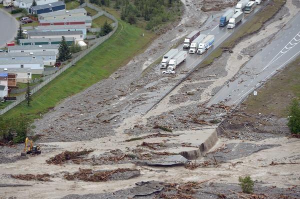 Trans Canada Highway Closed