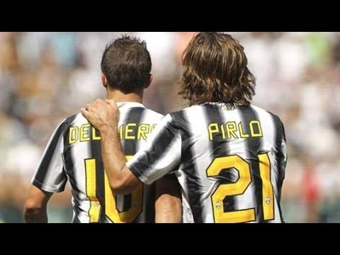 Alessandro Del Piero VS Andrea Pirlo - Who is Juventus Free Kicks King? HD