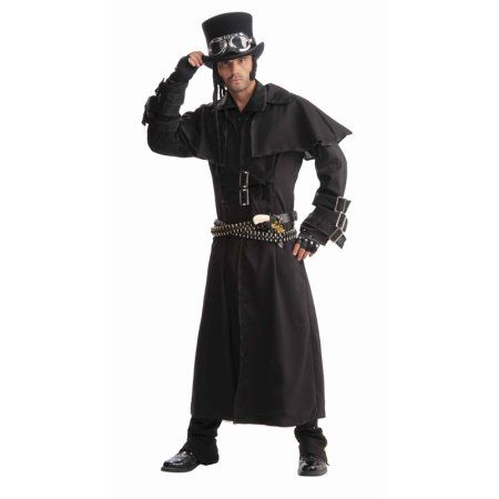 Steampunk Adult Mens Duster Coat