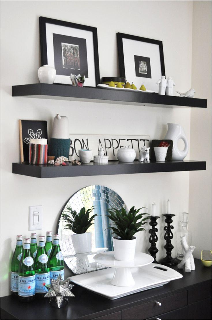 Bar U0026 Floating Shelves