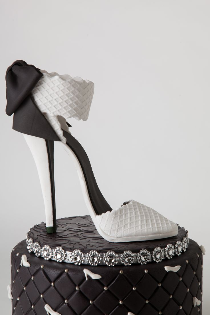 Select a high-heeled shoe that matches your party's theme: a ruby-red-sequined slipper for a movie-themed party, a crystal-studded, high-heel sandal for a charity gala or satin bridal shoes for a.