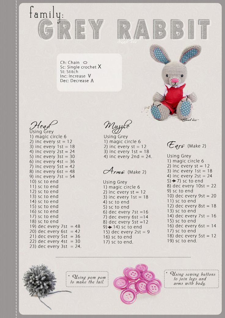 Grey_rabbit_pattern_[Snailboo]