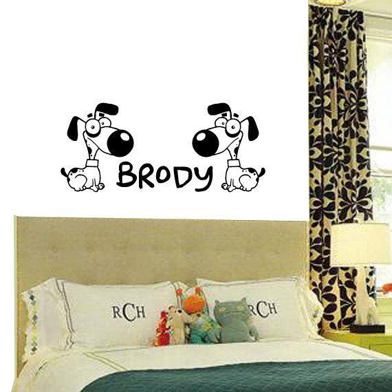 Best Cartoon Wall Decals Images On Pinterest Wall Decals - Custom vinyl wall decals dogs