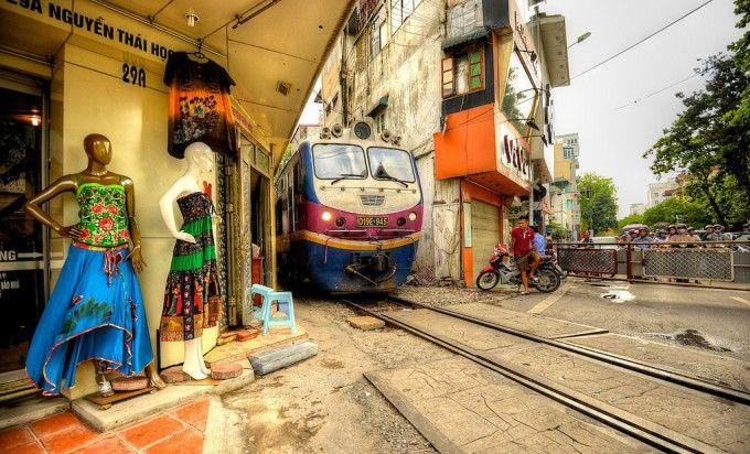 Ханой  и поезда