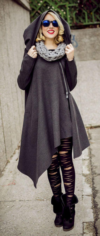 1000  ideas about Hooded Wool Coat on Pinterest | Wool coats Rue