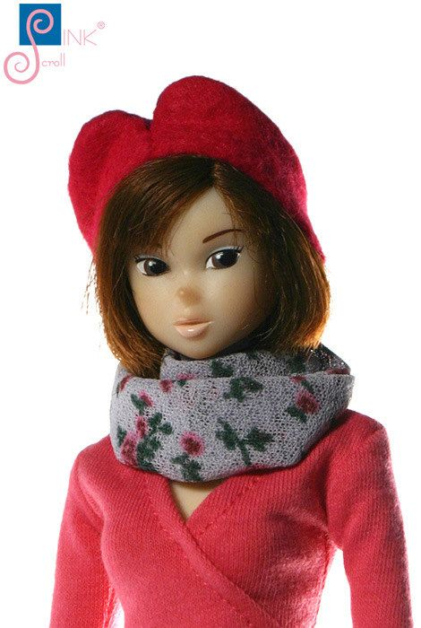 Momoko clothes cap: Gillian by Pinkscroll on Etsy