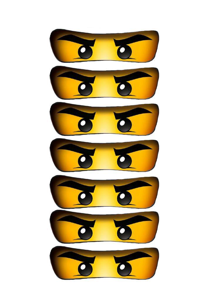 Ninjago print ballonger ToneroseDesign