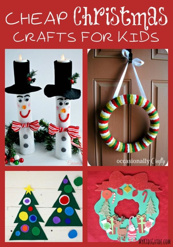 35 best christmas projects for the kids images on for Cheap crafts for kids