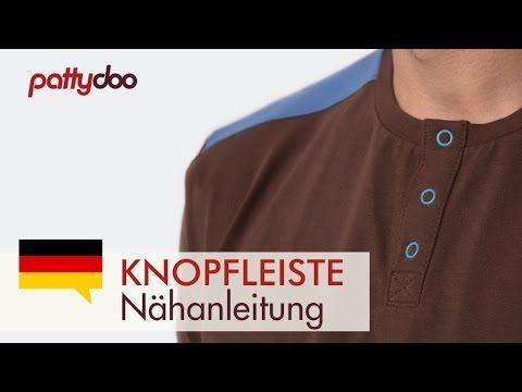 Wie nähe ich eine Knopfleiste in ein T-Shirt? | pattydoo Nähblog
