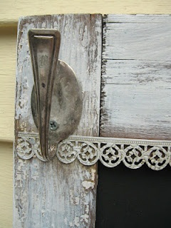 Hook made from old spoon