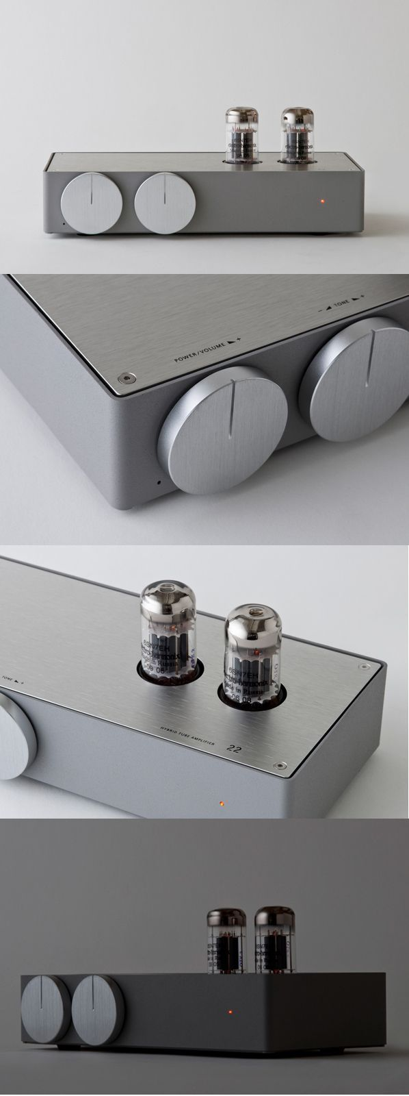 A brand-new tube amplifier from Japan.
