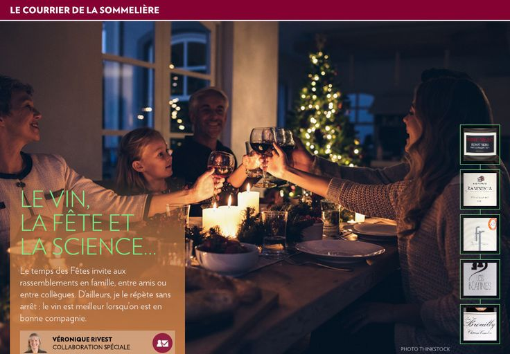 Le vin, la fête etla science… - La Presse+