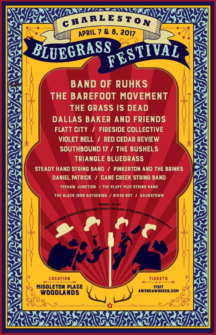 Charleston Bluegrass Festival 2017