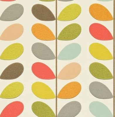 Multi Stem (110384) - Orla Kiely Wallpapers