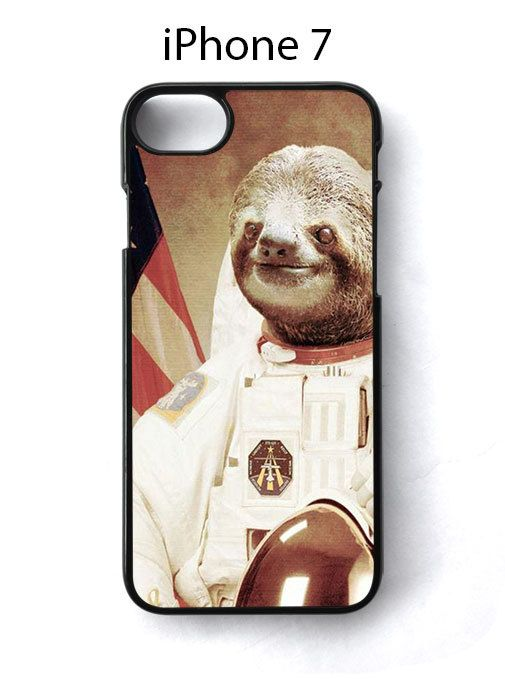 Sloth Astronaut iPhone 7 Case Cover - Cases, Covers & Skins
