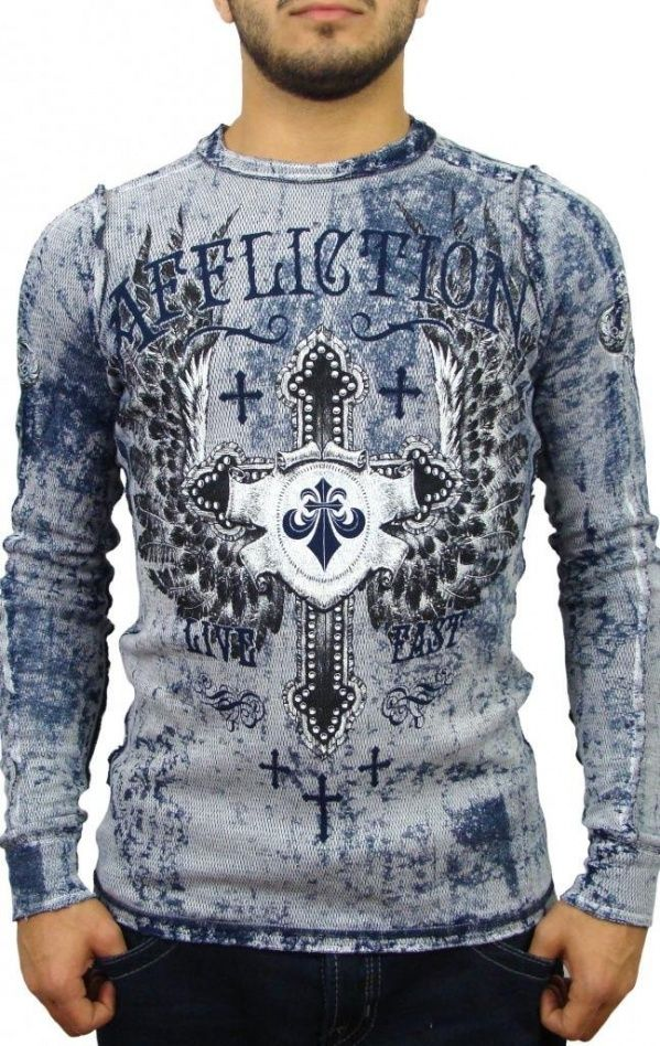 #Men's Fashion Clothing: #Shirts, #Tops, and Sweaters: Affliction Men's