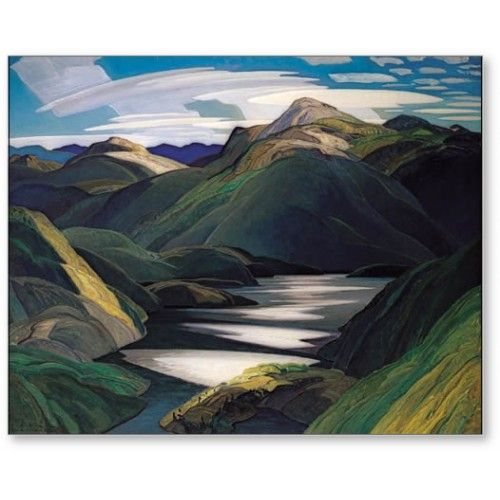 Franklin Carmichael - Group of Seven - Light And Shadow