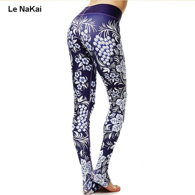 Discount $21.78, Buy Hot Sale Fruit Print Women Yoga Pants Beautiful Grape Print Thick Fabric No See Through Yoga Legging Fitness Dance Trousers