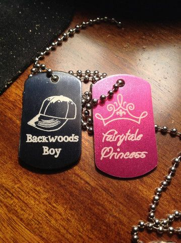 Backwoods Boy Fairytale Princess   Country Love Gifts
