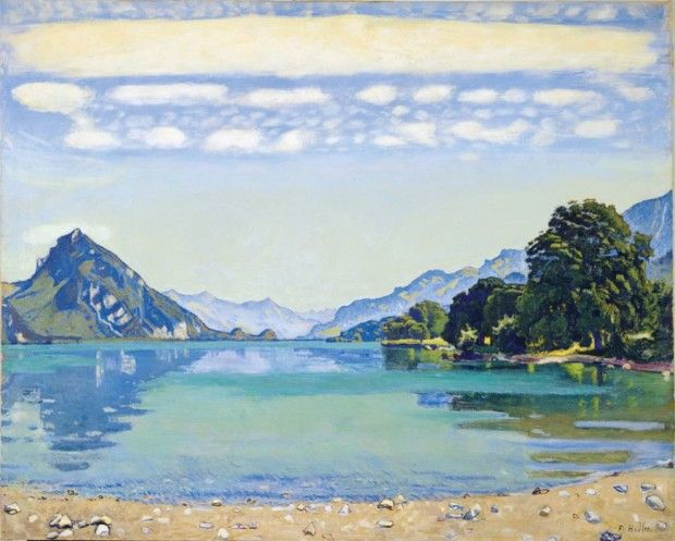 Ferdinand Hodler, Lake Thun from Leissigen, 1904, Kunstmuseum Bern