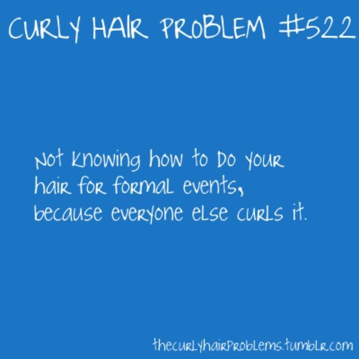 Curly Hair Problem this is when I straighten it.