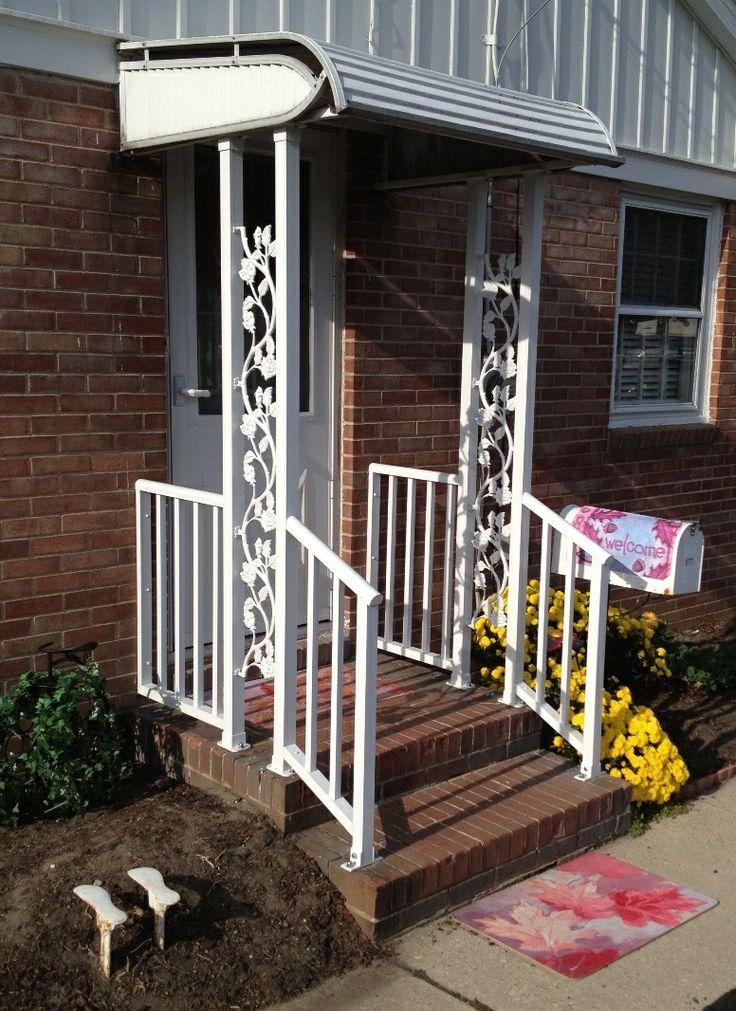 decorative aluminum railing. Residential Aluminum Railing with Decorative Posts  Pinterest