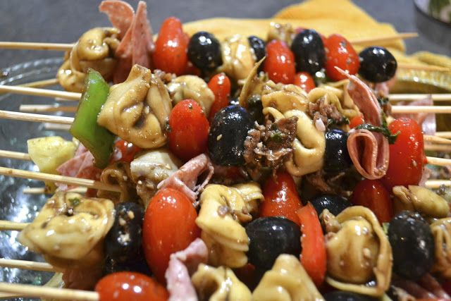 """""""Point-less"""" Meals: Antipasto Kabobs"""