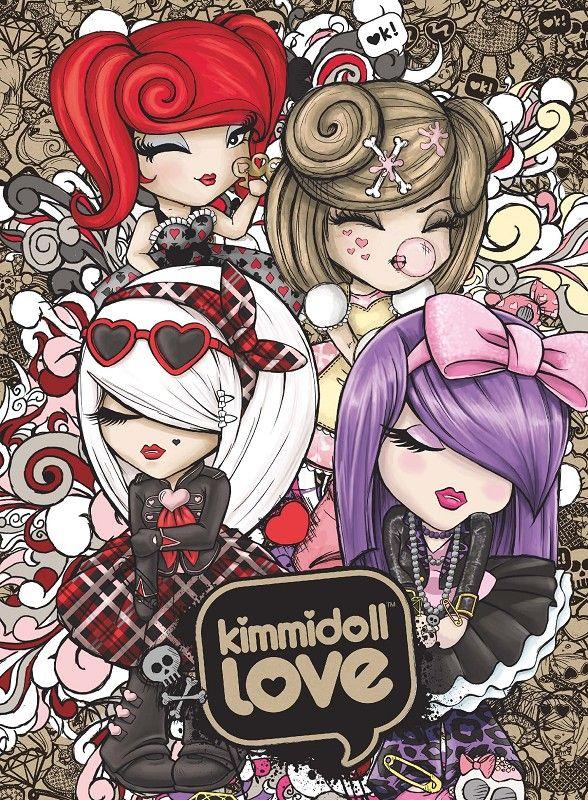 KIMMIDOLL™ LOVE ♡ Yumi Yumi Illustration by TAG