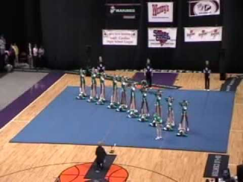 Mauldin High School Cheerleading 08-09 at STATE - YouTube