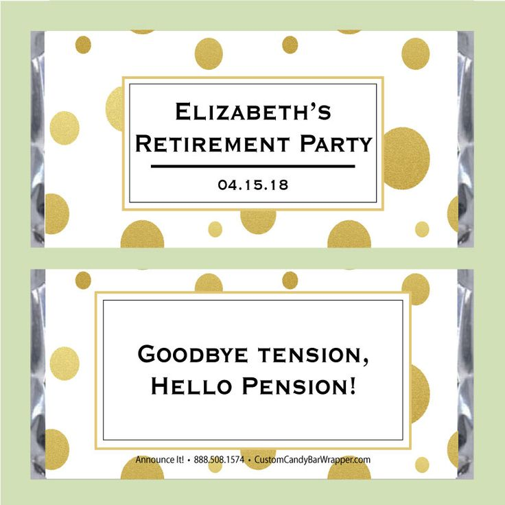 18th Birthday Birthday Party Favor Gumball Candy: 57 Best Images About Retirement Party Ideas On Pinterest