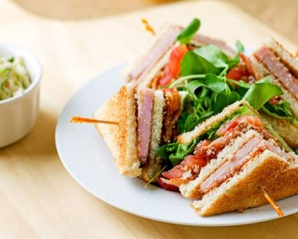 Club Sandwich Recipe | The Daily Meal