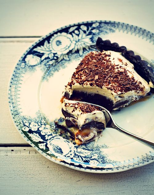 Chocolate Banoffee Tart by Citrus and Candy, via Flickr