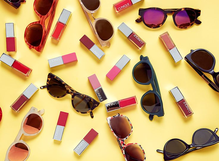 Inspiration: Summer's Best Sunglasses & Lipstick Looks | The Wink on Clinique