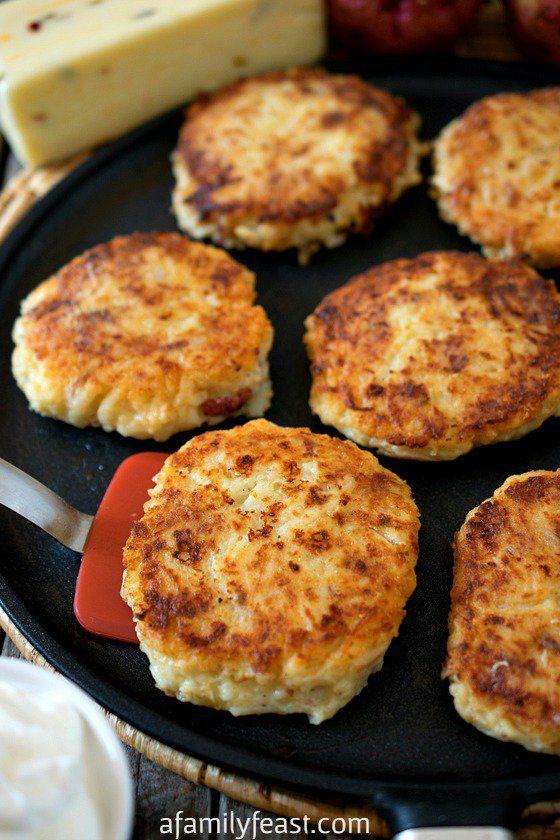 Pepper Jack Potato Pancakes   Recipe   The o'jays, Potato pancakes and ...
