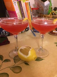 Teele with a Twist: Cranberry-Infused Vodka Drink: The No. 1