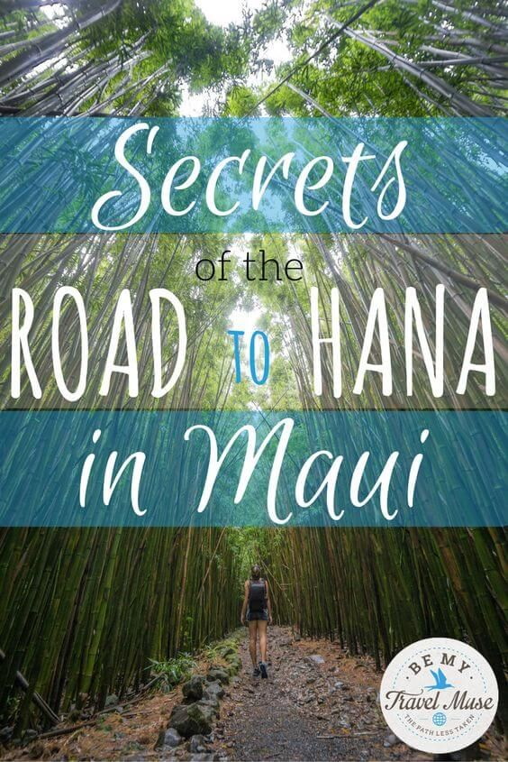 These are the best stops on the Road to Hana in Maui, along with some insider tips to help you avoid the crowds and enjoy the drive to the fullest. Read more at https://www.bemytravelmuse.com/best-stops-road-to-hana/
