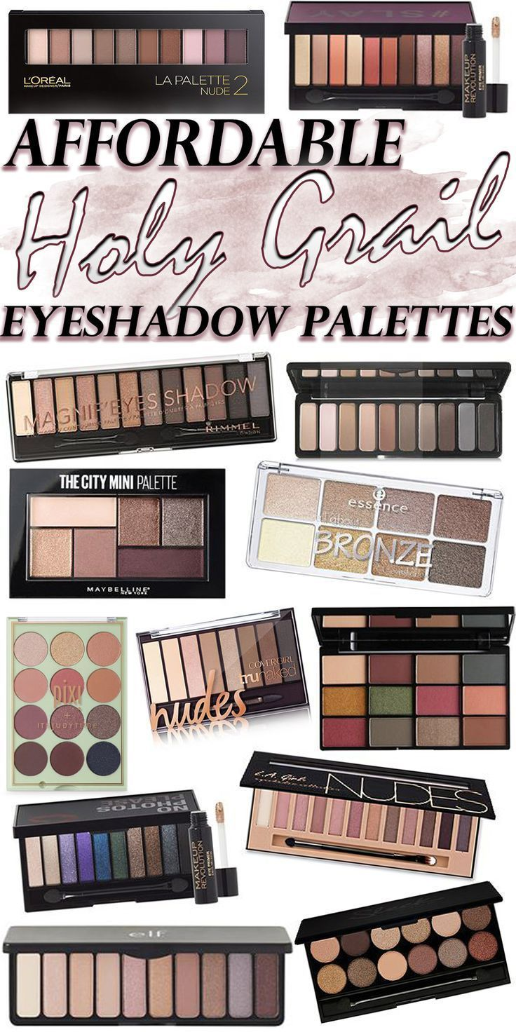 Must-have AFFORDABLE eyeshadow palettes that you NEED in your stash - blogger makeup faves!