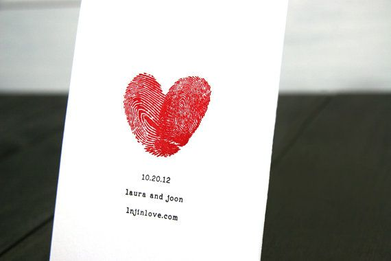 <3 this save the date idea...