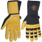 XX-Large Lineman Work Gloves, Black And Yellow