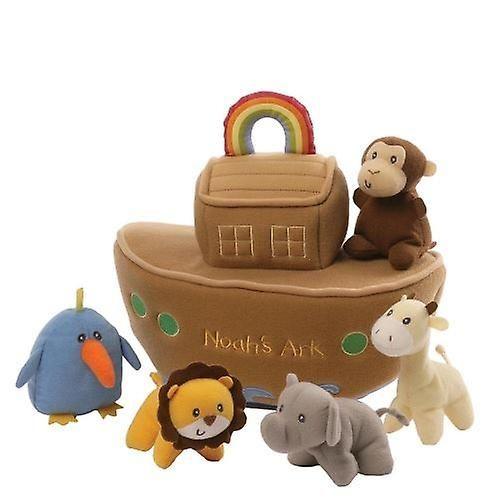 Gund Baby Collection Soft Toy - Noah's Ark Playset - 20cm - 4053923 - New - https://www.fruugo.co.uk/gund-baby-collection-soft-toy-noahs-ark-playset-20cm-4053923-new/p-6666259