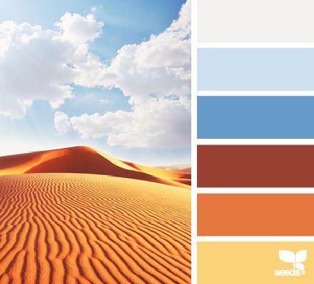 229 best coral tangerine orange images on pinterest for Desert colors interior design