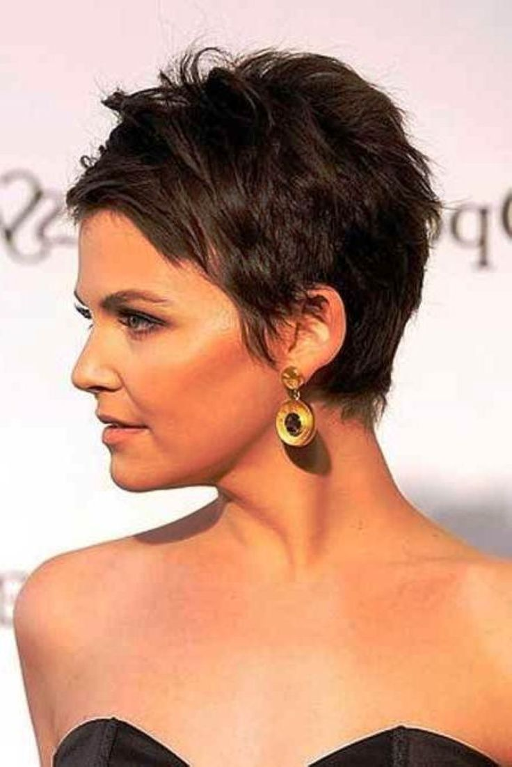 Back View of Short Haircuts - Short Hairstyles 2017
